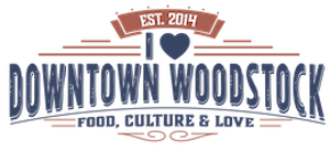 I Love Downtown Woodstock logo